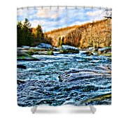 Beautiful Outdoors  Shower Curtain