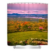 Beautiful Overview Of New Hampshire Shower Curtain