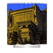 Beautiful Palace Of Fine Arts Shower Curtain