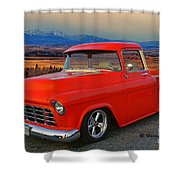 Beautiful Pick Up Truck Shower Curtain