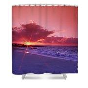 Beautiful Pink Sunset Shower Curtain