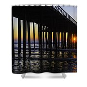 Beautiful Pismo Beach Sunset Shower Curtain