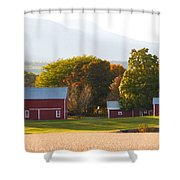 Beautiful Red Barn 3 Shower Curtain