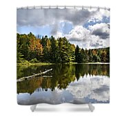 Beautiful Reflections Landscape Shower Curtain