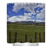 Beautiful Rocky Mountains Shower Curtain