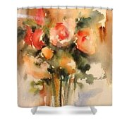 Beautiful Roses Shower Curtain