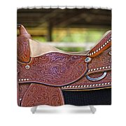 Beautiful Saddle Shower Curtain