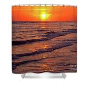 Beautiful Sanibel Sunset Shower Curtain