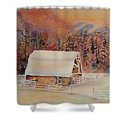 Beautiful Skies  Shower Curtain