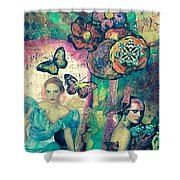 Beautiful Song Shower Curtain