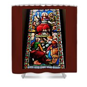 Beautiful Stained Glass At Emmanuel Church Baltimore # 5 Shower Curtain