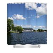 Beautiful Summerday At Lake Winnipesaukee Shower Curtain