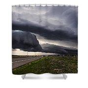 Beautiful Texas Storm Shower Curtain