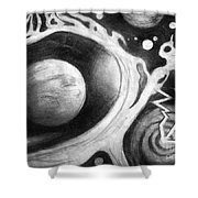 Beautiful Universe. Space Art Shower Curtain