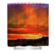 Beautiful Utah Sunset Shower Curtain