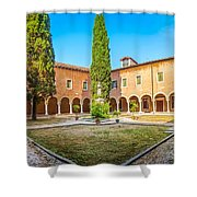 Beautiful Venetian Patio Shower Curtain