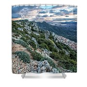 Beautiful View Of Baunei Shower Curtain