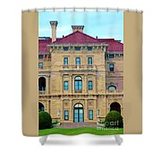 Beautiful Villa Shower Curtain