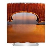 Beautiful Violin Shower Curtain
