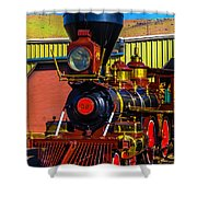 Beautiful Virgina And Truckee Steam Train Shower Curtain