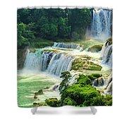 Beautiful Waterfall Crystal Waters Shower Curtain