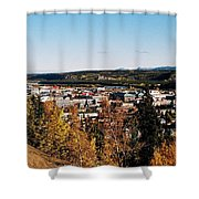 Beautiful Whitehorse ... Shower Curtain