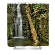 Beautifully Confined Shower Curtain