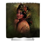 Beauty And Nature Shower Curtain
