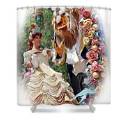 Beauty And The Beast II Shower Curtain