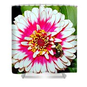 Beauty And The Bee #1 Shower Curtain