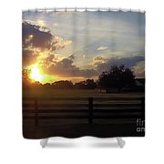 Beauty At Sunset Shower Curtain