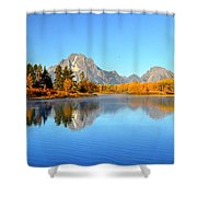Beauty At The Bend Shower Curtain