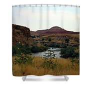 Beauty At The Big Horn River Shower Curtain
