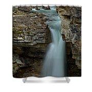 Beauty Creek Blue Falls Shower Curtain