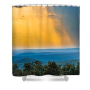 Beauty From The Heavens Shower Curtain