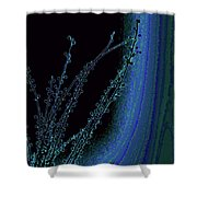 Beauty In A Weed - Colorful Digital Creation Shower Curtain