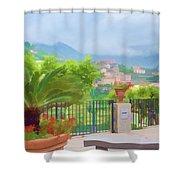 Beauty In Capri Shower Curtain