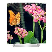 Beauty In Motion Shower Curtain by Garvin Hunter