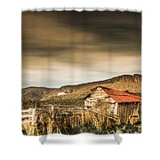 Beauty In Rural Dilapidation Shower Curtain