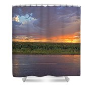 Beauty In The Eye Of The Beholder Shower Curtain