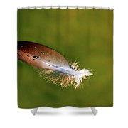Beauty In The Simple Things Shower Curtain by Rick Furmanek