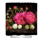 Beauty In The Whole Foods Flower Dept. Shower Curtain