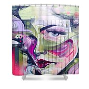 Beauty In Unexpected Places Shower Curtain