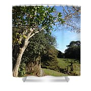 A Country Landscape  Shower Curtain