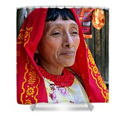 Beauty Of A Woman Shower Curtain