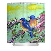Beauty Of Birds Shower Curtain
