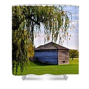 Beauty Of Fort Meigs Shower Curtain