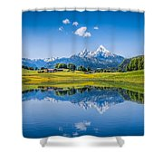 Beauty Of The Alps Shower Curtain