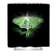 Beauty Of The Luna Shower Curtain
