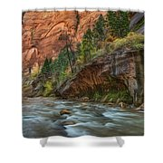 Beauty Of The Narrows Shower Curtain
